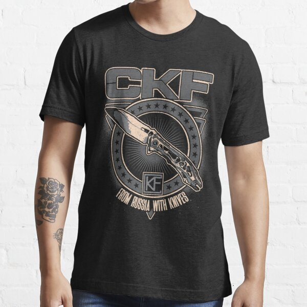 CKF - From Russia With Knives Essential T-Shirt