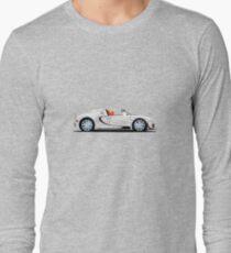2014 Bugatti Veyron 16.4 Grand Sport Vitesse L'or Blanc Long Sleeve T-Shirt