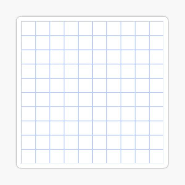 Simple Grid Sticker
