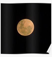 20121129 - Bushfire Moon - ACT Poster