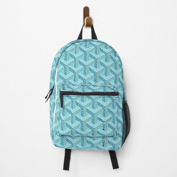 turquoise blue goyard Backpack