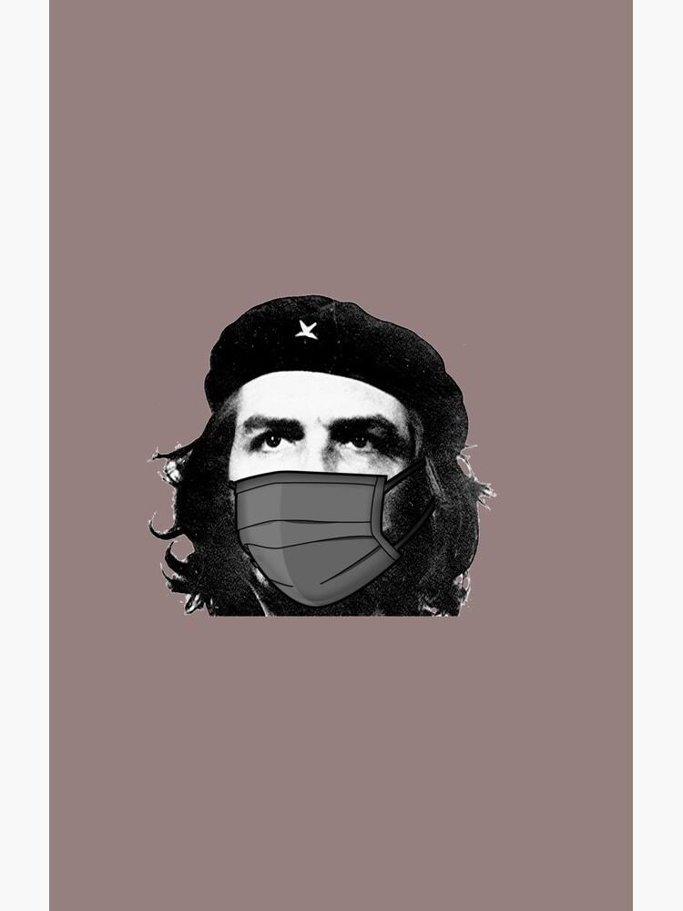 «che guevara portant un masque» par Henada