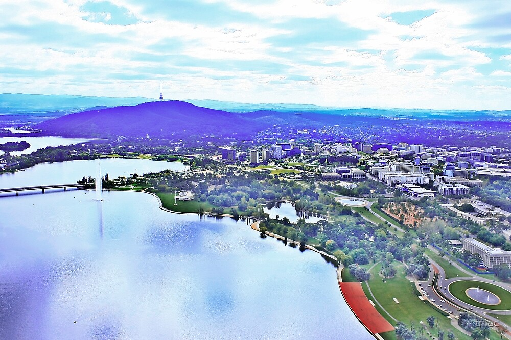 20100402 - Canberra From The Air #1 by tmac