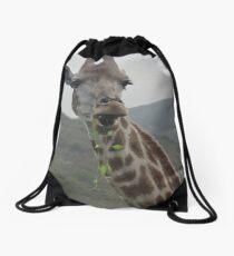Funny Giraffe  Drawstring Bag