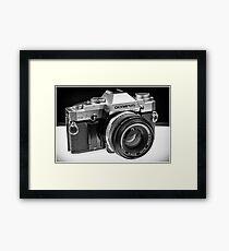 Old School Camera Framed Print
