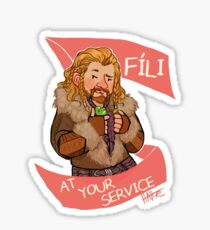 Fee at Your Service Sticker