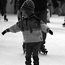 Concentration on Ice by JLaverty