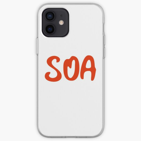 Abréviation de Sons of Anarchy Red Coque souple iPhone