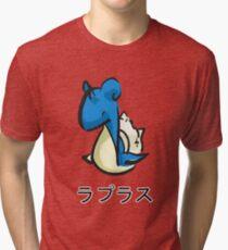 ラプラス Lapuras  Tri-blend T-Shirt