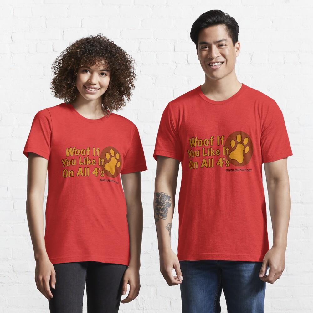 Woof Wenn du magst! Essential T-Shirt