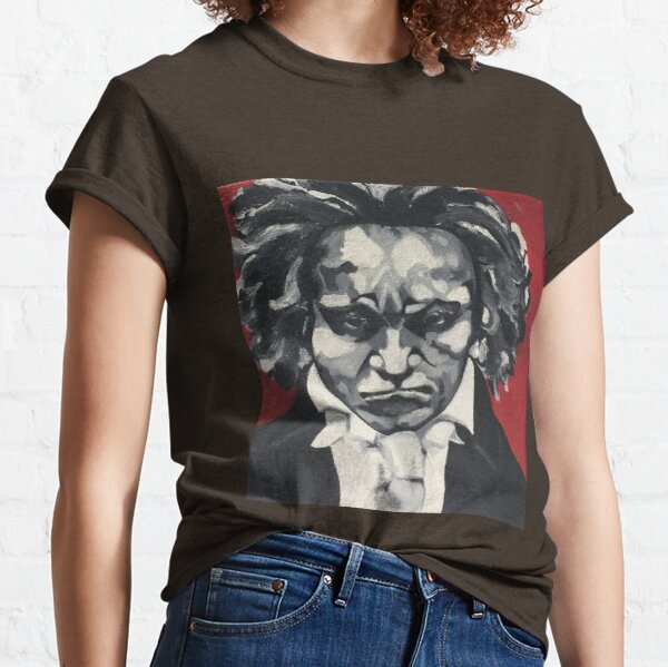 Ludwig van Beethoven Portrait Classic T-Shirt