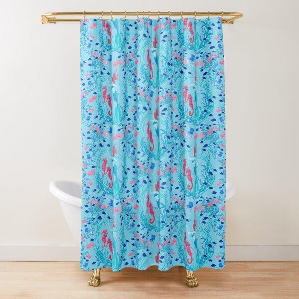 Mermaid's Garden  Shower Curtain