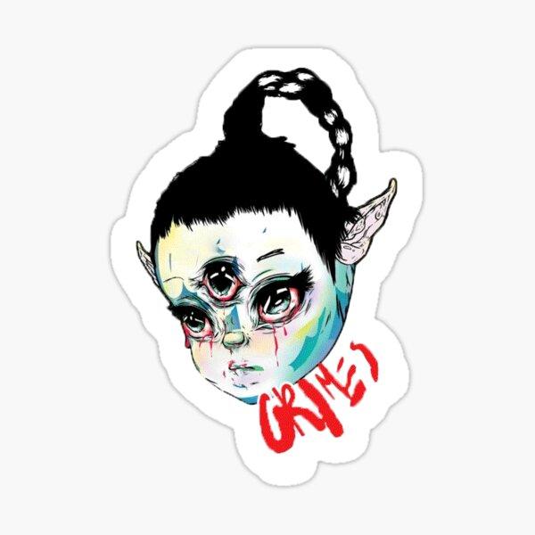 Grimes Art Angels Sticker