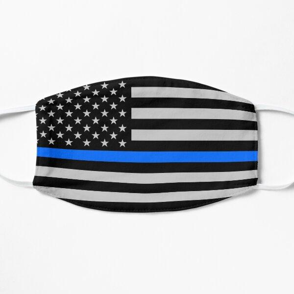 Thin Blue Line / Police / Law Enforcement / USA Flag Mask