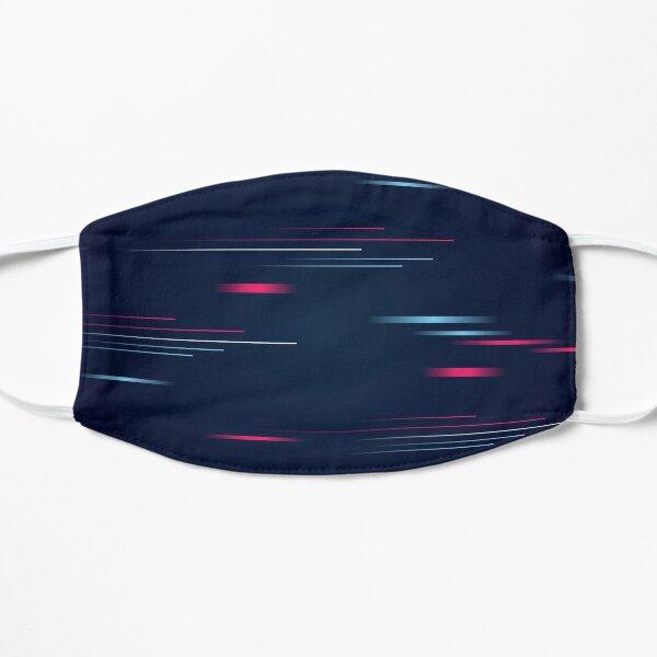 Cyber Glitch Vaporwave Flat Mask