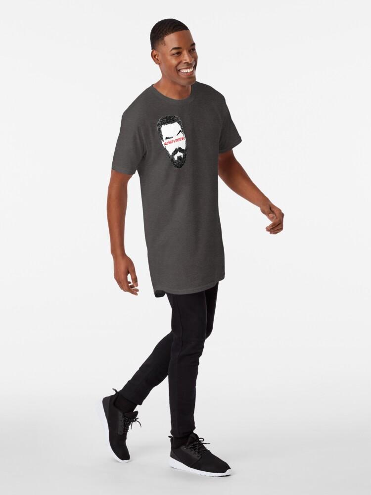 Alternate view of Ronon's Reviews New Logo Long T-Shirt