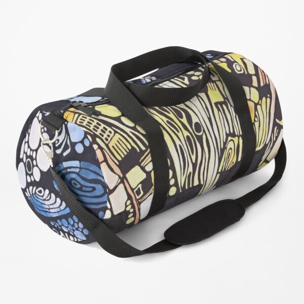 Beethoven symphony #5 - music visualised  Duffle Bag