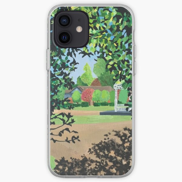 Light and Shadow - natural patterns iPhone Soft Case