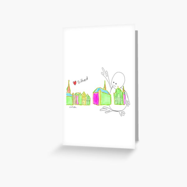 I ❤️  Sittard, Be proud of your home town Greeting Card