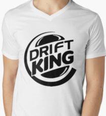 DRIFT KING Men's V-Neck T-Shirt
