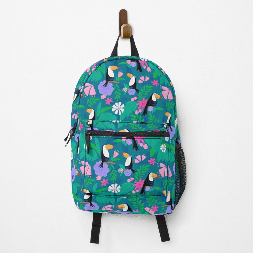 Tropical Toucan Jungle Backpack