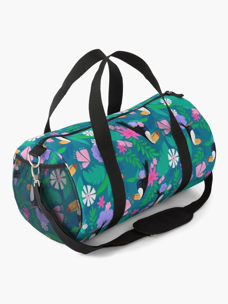 Alternate view of Tropical Toucan Jungle Duffle Bag