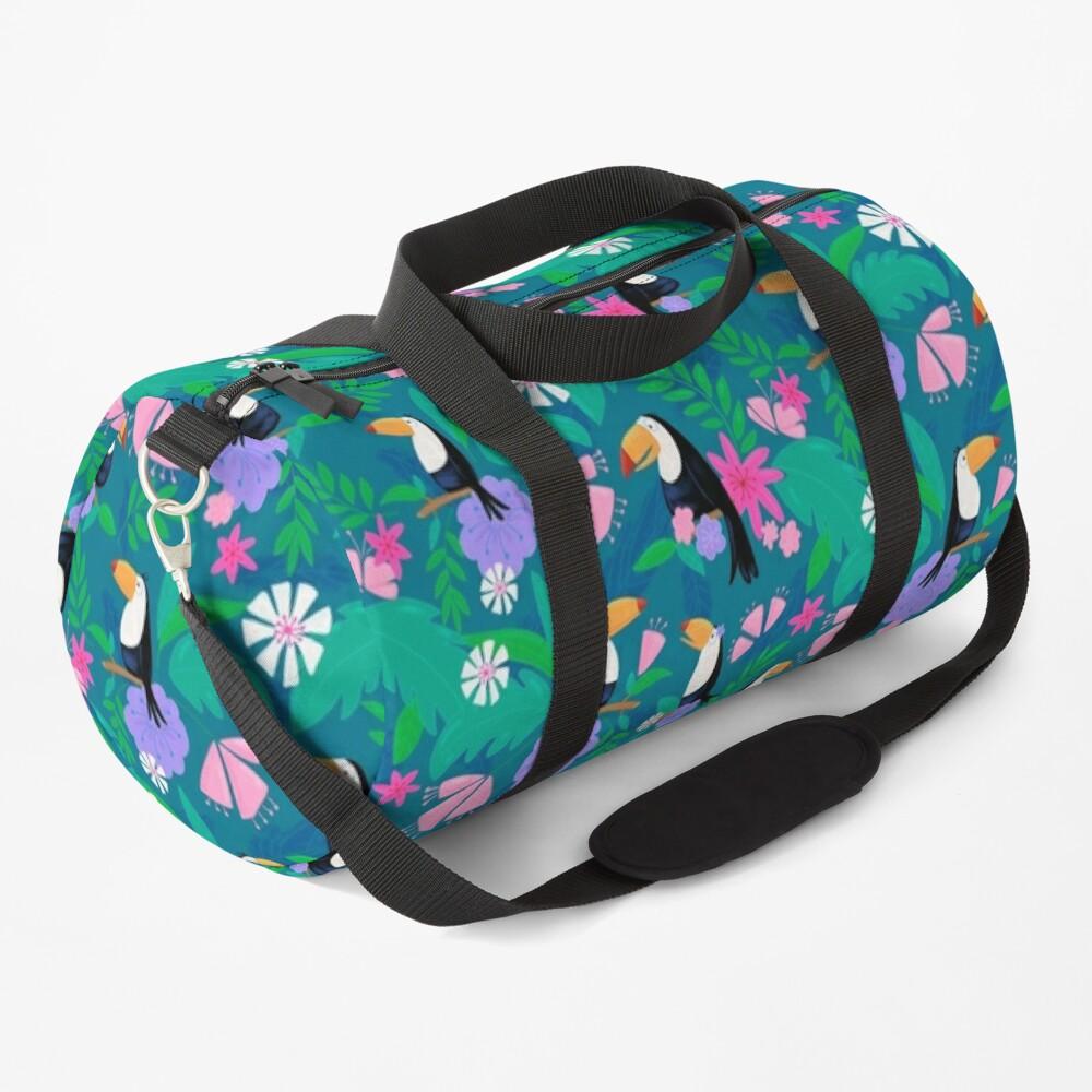 Tropical Toucan Jungle Duffle Bag