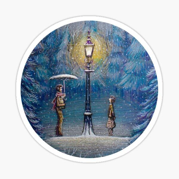 Narnia Linterna Mágica Pegatina