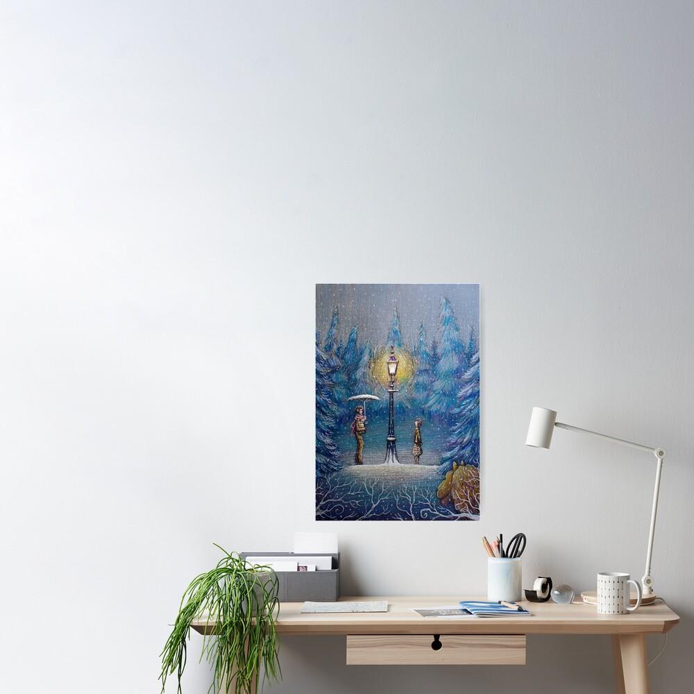 Narnia Magic Lantern Poster