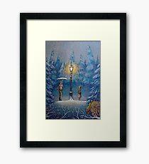 Narnia Magic Lantern Framed Print