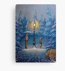 Narnia Magic Lantern Canvas Print
