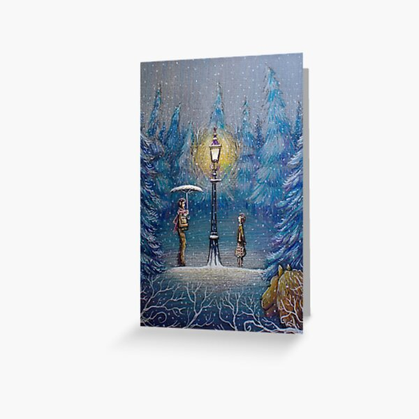 Narnia Magic Lantern Greeting Card