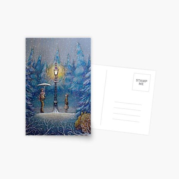 Narnia Magic Lantern Postcard