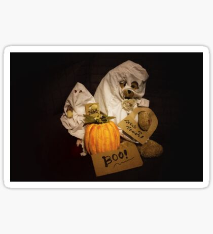 Bear Stories:  Have a Beary Happy Halloween Sticker