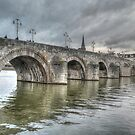 Oldest bridge Netherlands by Peter Wiggerman