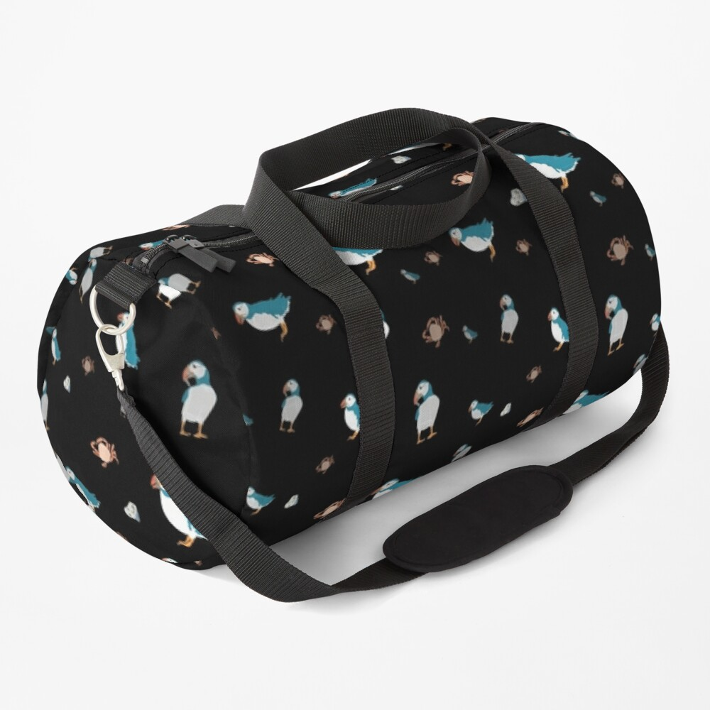 Puffin party Duffle Bag