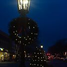 Night lights at Christmas time by Penny Fawver