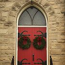 Another red door by Penny Fawver