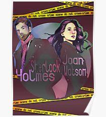 Joan and Sherlock Poster