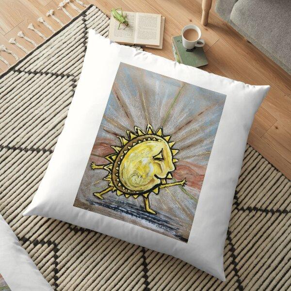 Follow the Sun Floor Pillow