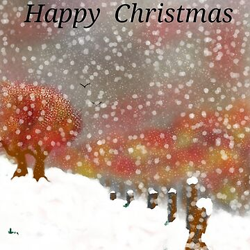 Hand designed signed Christmas card by 13thstreet