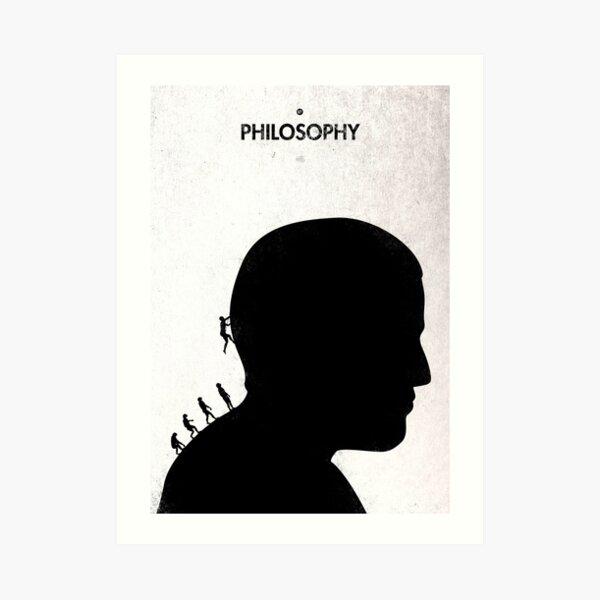99 Steps of Progress - Philosophy Art Print