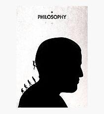 99 Steps of Progress - Philosophy Photographic Print
