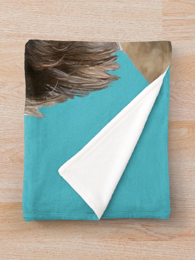 Alternate view of BORDER CUTENESS Throw Blanket