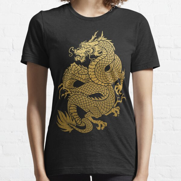 Traditional Asian Golden Dragon  Essential T-Shirt