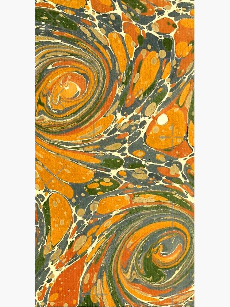 Old Marbled Paper 03 de bibliotee