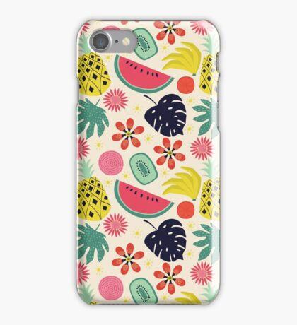 Tropicana Fruits iPhone Case/Skin