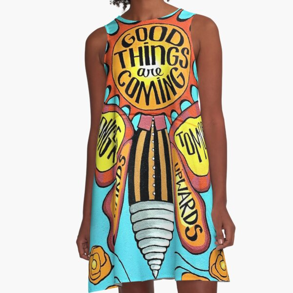 Good Bug A-Line Dress