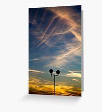 Skylines Greeting Card