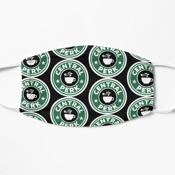 Central Perk Starbucks Flat Mask